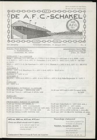 Schakels (clubbladen) 1978-01-11