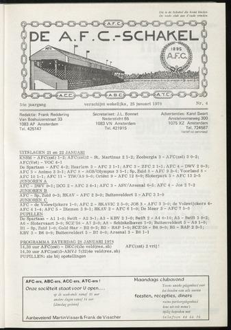 Schakels (clubbladen) 1978-01-25