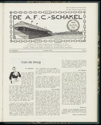 Schakels (clubbladen) 1966