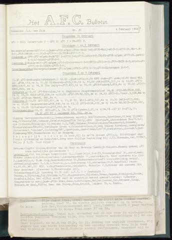 Bulletins (vnl. opstellingen) 1964-01-29