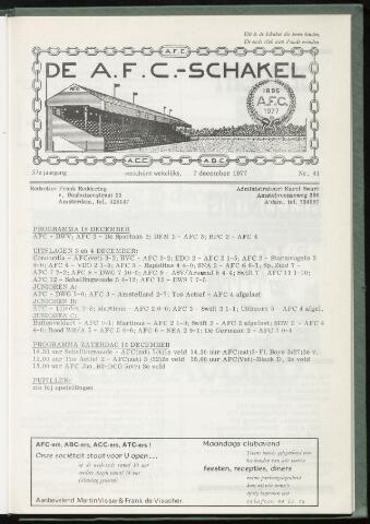 Schakels (clubbladen) 1977-12-07