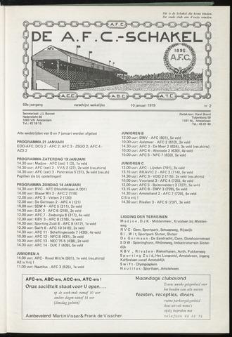 Schakels (clubbladen) 1979-01-10