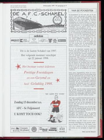 Schakels (clubbladen) 1997-12-10