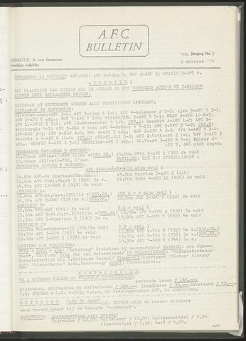 Bulletins (vnl. opstellingen) 1974-10-02