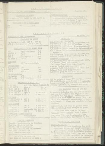 Bulletins (vnl. opstellingen) 1954-03-30