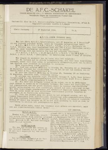 Schakels (clubbladen) 1944-08-17