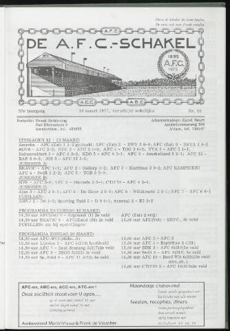 Schakels (clubbladen) 1977-03-16