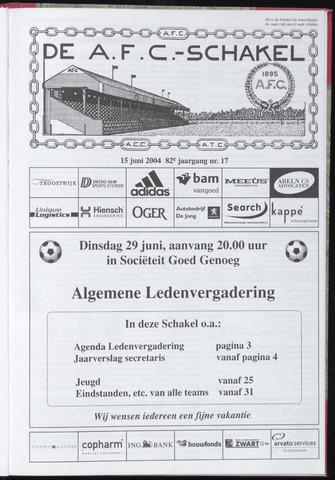 Schakels (clubbladen) 2004-06-15
