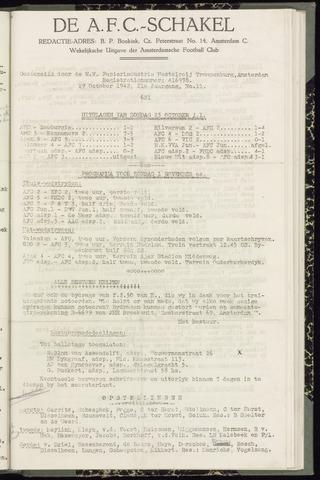 Schakels (clubbladen) 1942-10-29