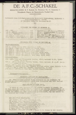 Schakels (clubbladen) 1942-12-17