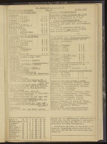 Bulletins (vnl. opstellingen) 1947-05-29