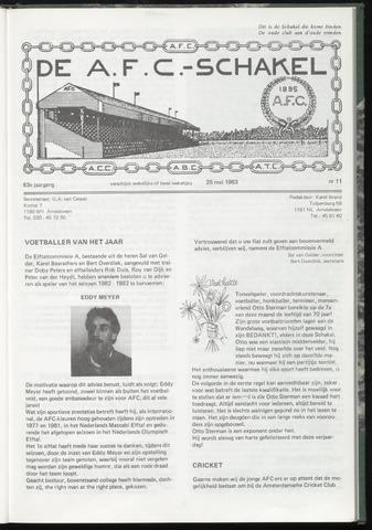 Schakels (clubbladen) 1983-05-25