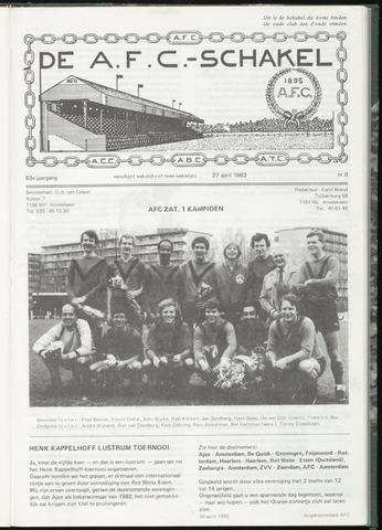 Schakels (clubbladen) 1983-04-27