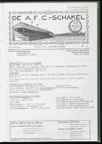 Schakels (clubbladen) 1977-04-13
