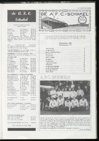 Schakels (clubbladen) 1985-09-25
