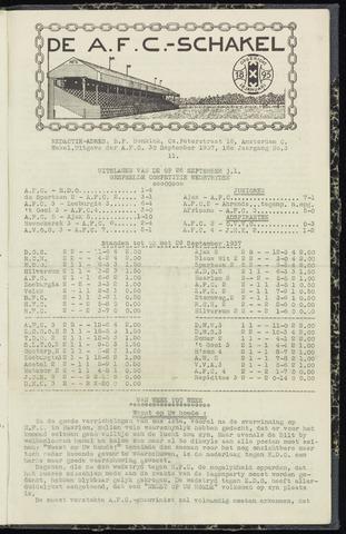 Schakels (clubbladen) 1937-09-30