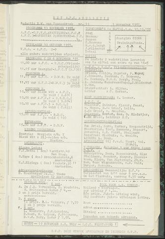 Bulletins (vnl. opstellingen) 1955-11-01