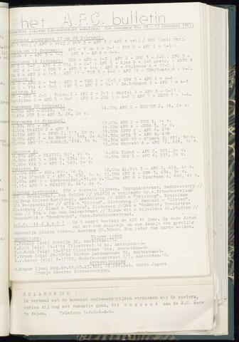 Bulletins (vnl. opstellingen) 1965-02-17