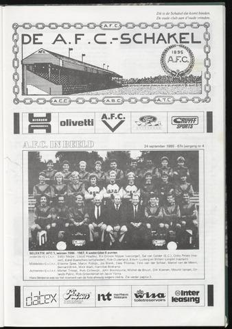 Schakels (clubbladen) 1986-09-24