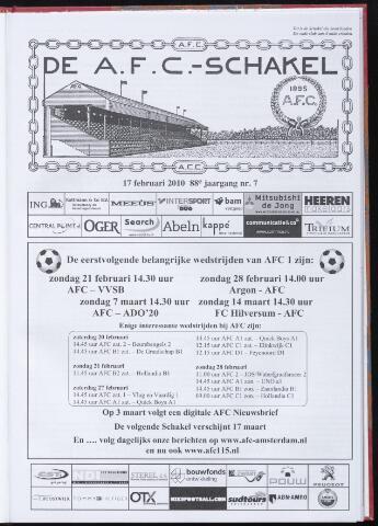 Schakels (clubbladen) 2010-02-17
