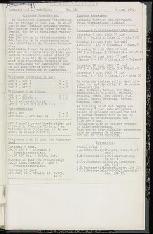 Bulletins (vnl. opstellingen) 1962-06-05