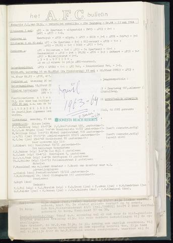 Bulletins (vnl. opstellingen) 1964-05-13