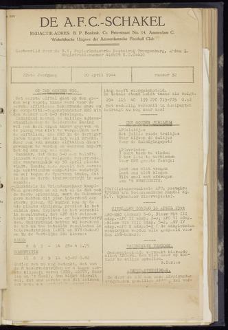 Schakels (clubbladen) 1944-04-20