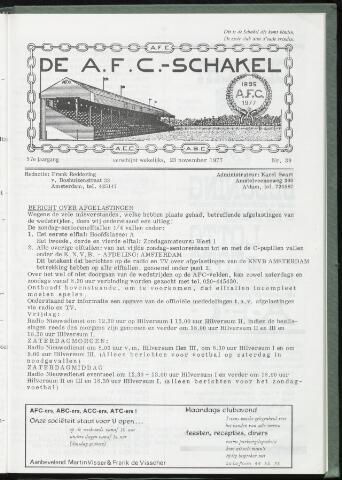 Schakels (clubbladen) 1977-11-23