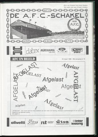 Schakels (clubbladen) 1988-03-23