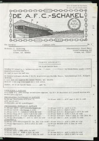 Schakels (clubbladen) 1976-01-06
