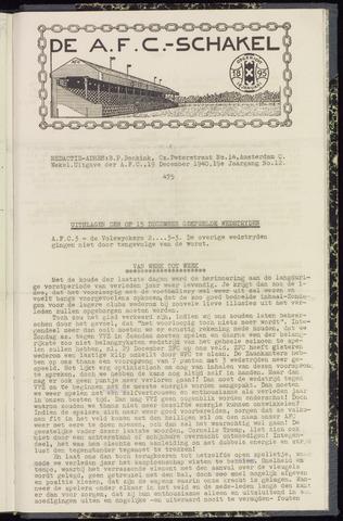 Schakels (clubbladen) 1940-12-19