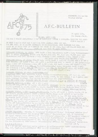 Bulletins (vnl. opstellingen) 1971-04-28