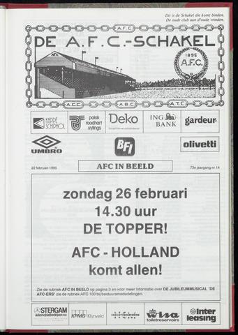 Schakels (clubbladen) 1995-02-22