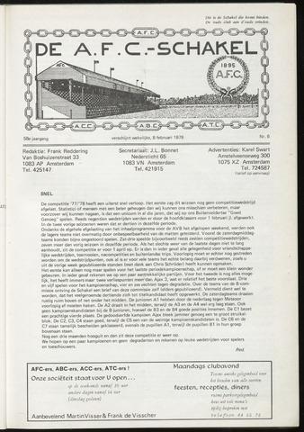 Schakels (clubbladen) 1978-02-08
