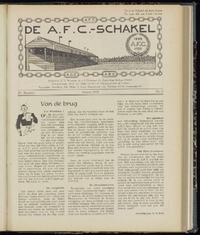 Schakels (clubbladen) 1958
