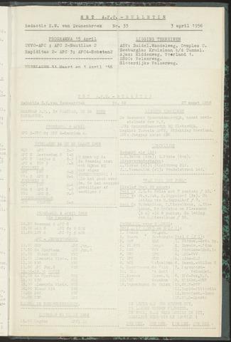 Bulletins (vnl. opstellingen) 1956-03-27
