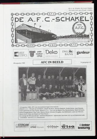 Schakels (clubbladen) 1993-08-26