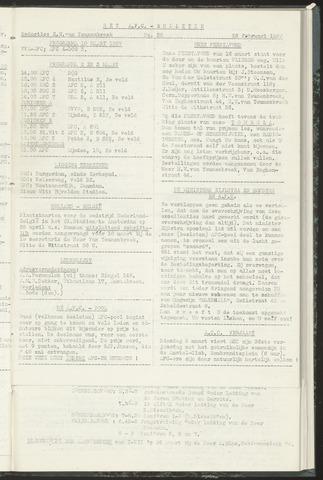 Bulletins (vnl. opstellingen) 1957-02-26