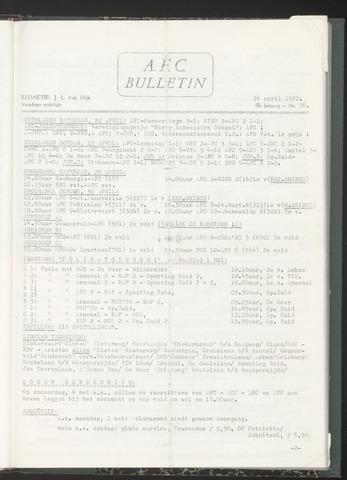Bulletins (vnl. opstellingen) 1972-04-26