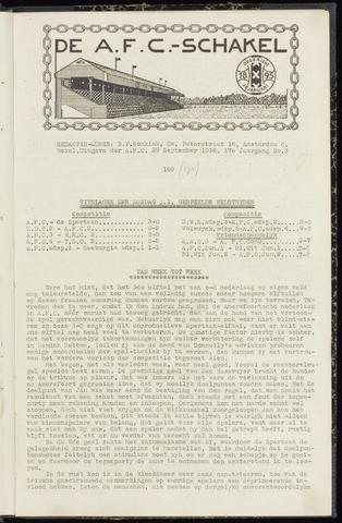 Schakels (clubbladen) 1938-09-29