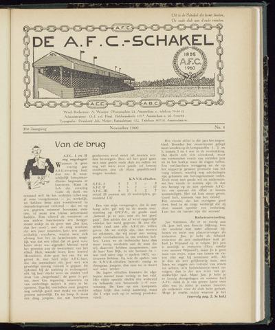 Schakels (clubbladen) 1960-11-01
