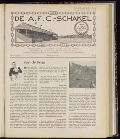 Schakels (clubbladen) 1957-09-01
