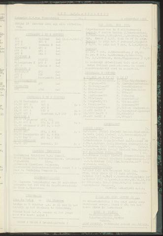 Bulletins (vnl. opstellingen) 1955-10-04