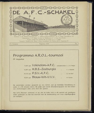 Schakels (clubbladen) 1948-08-01