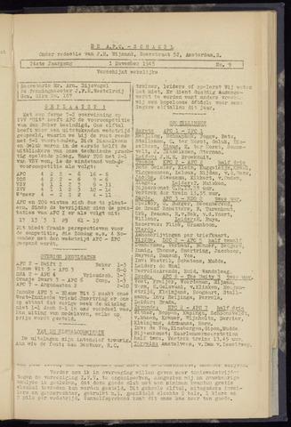 Schakels (clubbladen) 1945-11-01