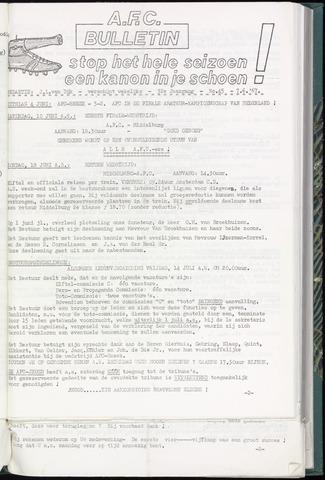Bulletins (vnl. opstellingen) 1967-06-07