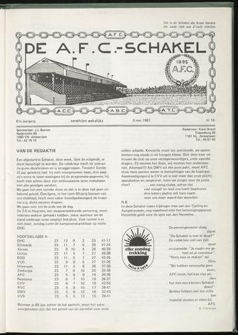 Schakels (clubbladen) 1981-05-06
