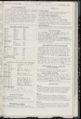 Bulletins (vnl. opstellingen) 1961-03-28
