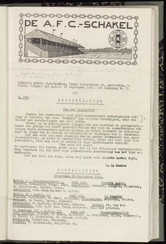 Schakels (clubbladen) 1941-09-25