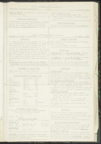 Bulletins (vnl. opstellingen) 1955-03-29